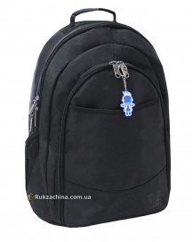 "Рюкзак для ноутбука ""City"" (max) (34л) TM BAGLAND 16"" (черн жатка)"