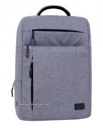 "Рюкзак для ноутбука ""Волнорез"" (20л) TM BAGLAND 17,3"" (серый)"