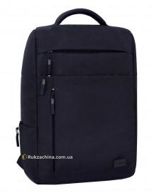 """Рюкзак для ноутбука """"Волнорез"""" (20л) TM BAGLAND 17,3"""" (черный)"""