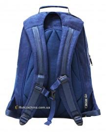 """Рюкзак для ноутбука TM BAGLAND """"City"""" (32л) 15"""" (синий жатка)"""