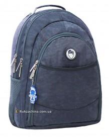"""Рюкзак для ноутбука TM BAGLAND """"City"""" (32л) 15"""" (серый жатка)"""