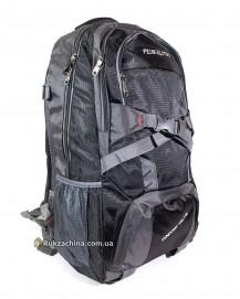 Туристический рюкзак (30л) (черно-серый)