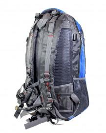 Туристический рюкзак (30л) (сине-серый)