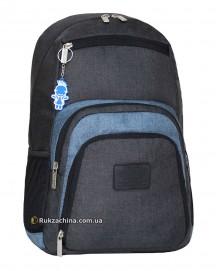 "Рюкзак TM BAGLAND ""Freestyle"" (21л) USB/наушники/15"" (серый)"