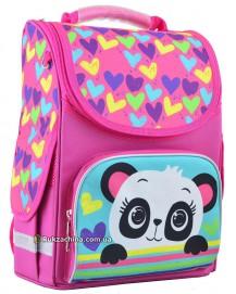 """Рюкзак школьный каркасный (12л) TM SMART """"Panda"""""""