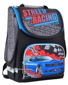 """Рюкзак школьный каркасный (12л) TM SMART """"Street racing"""""""